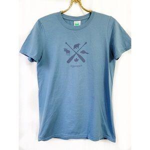 🌸2/$30 Blue Algonquin graphic t-shirt